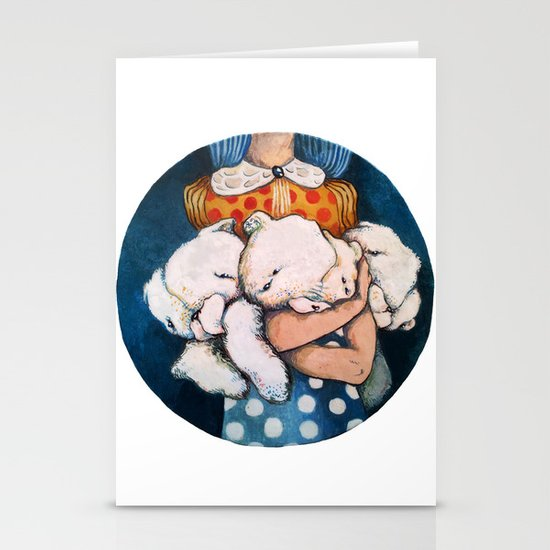 Goodnight story Stationery Cards