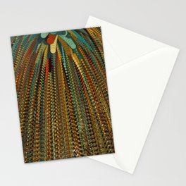 Particle shower Stationery Cards