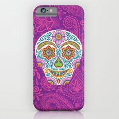 Flower Power Skully iPhone 6s Slim Case