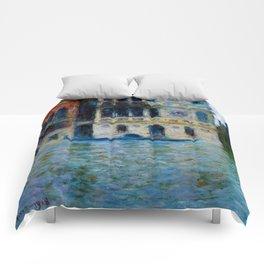 """Claude Monet """"Le Palais Dario"""" Comforters"""