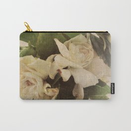 Rustic Floral Carry-All Pouch