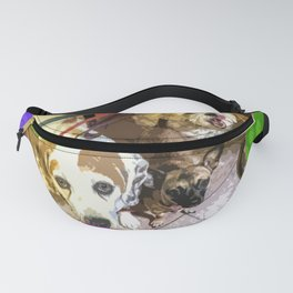 Roz, Buster, Peppy and Jamie Fanny Pack