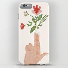 Floral Pistol iPhone 6s Plus Slim Case