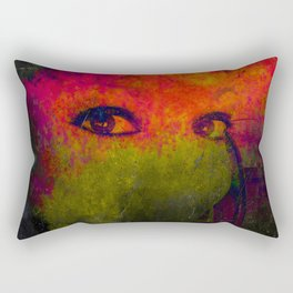 Sentinel of the Abyss Rectangular Pillow