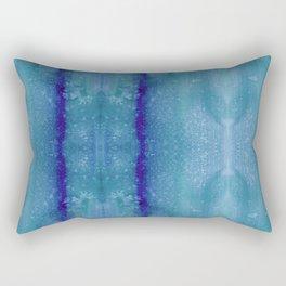 Echo - Indigo Rectangular Pillow