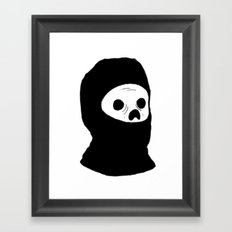 Stealth Zombie  Framed Art Print