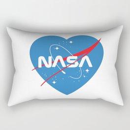 Love Nasa Rectangular Pillow