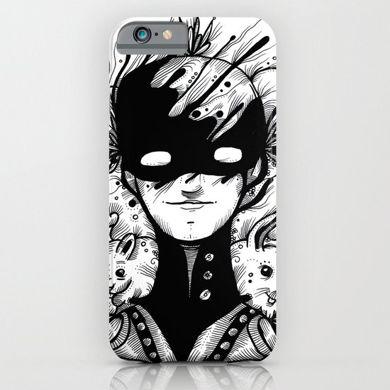 Guardians of the Woods (Black & White Version) iPhone & iPod Case