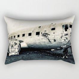 Icelandic Plane Rectangular Pillow