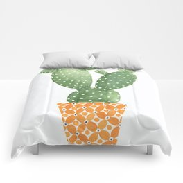 Cactus Best Friends - Prickly Pear Comforters