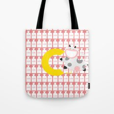 c for cow Tote Bag