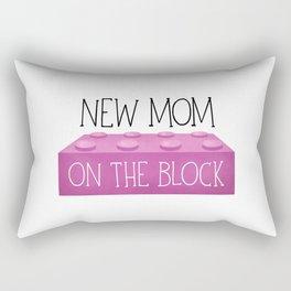 New Mom On The Block Rectangular Pillow