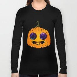 pumpkin glases Long Sleeve T-shirt