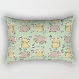 Hamster Pattern Rectangular Pillow