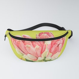 Red Cactus Fanny Pack