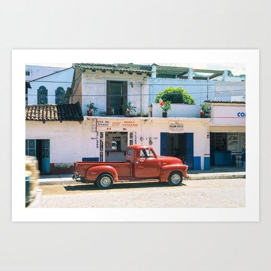 Mexico street scene #2 Art Print