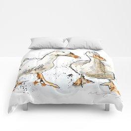 Gooses friends Comforters