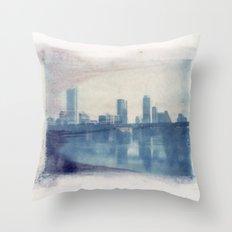 Austin Reflected Polaroid Transfer Throw Pillow