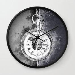 Old Fashioned Pocket Watch Wall Clock