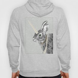 uni-hare All animals are magical Hoody