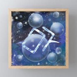 Astrologian Galaxy Framed Mini Art Print