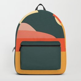 Geometric Landscape 14 Backpack