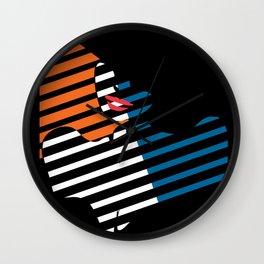 Femme Fatale II Wall Clock
