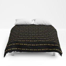 F@#K YOU Pinstripe II Comforters