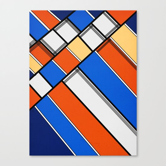 Lined I Canvas Print