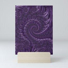 Deep Purple Mini Art Print