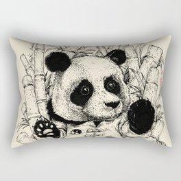 Taiji Panda Rectangular Pillow