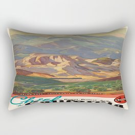 Vintage poster - California Rectangular Pillow