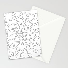 AD-2D Triangles Stationery Cards