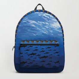 Hammerhead Sharks and teeth Backpack