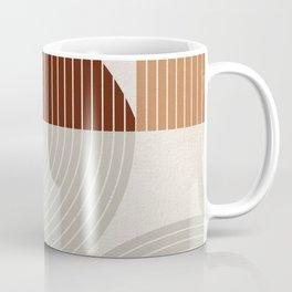 Mid Century Line Art VI Coffee Mug