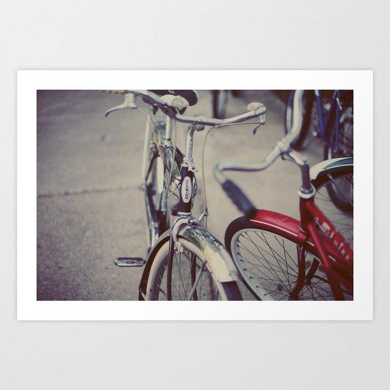 Summer Rides Art Print