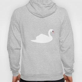 Swan Pattern on Pink 030 Hoody