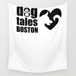 DogTales Boston Extended Logo Wall Tapestry