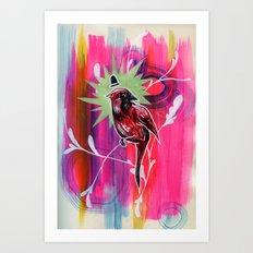 Dapper Cardinal is Dapper Art Print