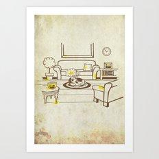 Greed - Mine, mine, all mine Art Print