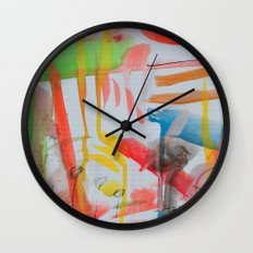 Spontaneous moods Wall Clock