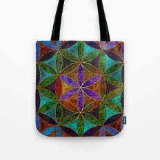 The Flower of Life (Sacred Geometry) 2 Tote Bag