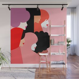 Together we persist  #girlpower Wall Mural