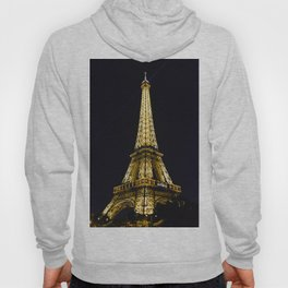 Golden Eiffel Tower Hoody