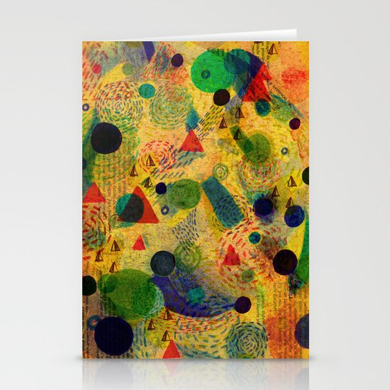 Color Dimension Stationery Cards