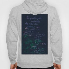 """""""Conquest of the Useless"""" by Werner Herzog Print (v. 10) Hoody"""