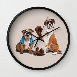 Raging (Colour) Wall Clock