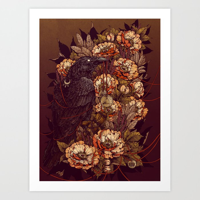 Corvus Corax Kunstdrucke