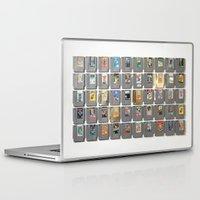 castlevania Laptop & iPad Skins featuring 50 Nintendo Games by Jason Travis