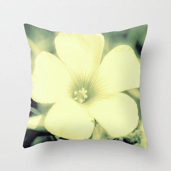 Soft Romance Throw Pillow